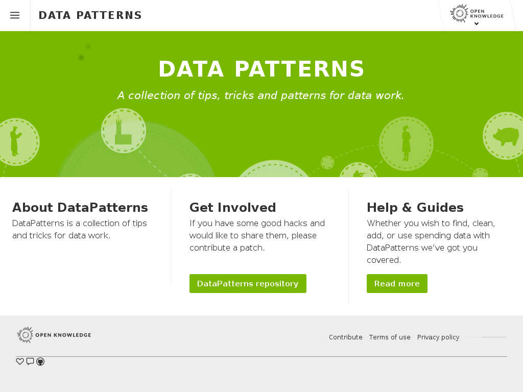 Data Patterns