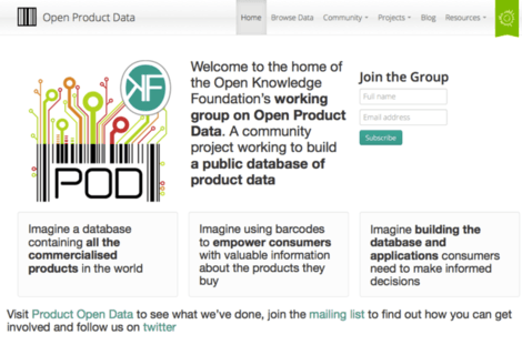 Product Open Data