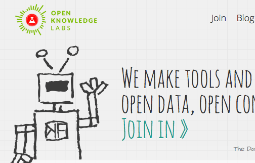 Open Knowledge Labs website